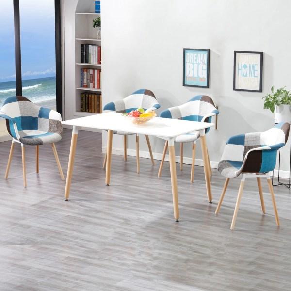 chaises salle a manger scandinave