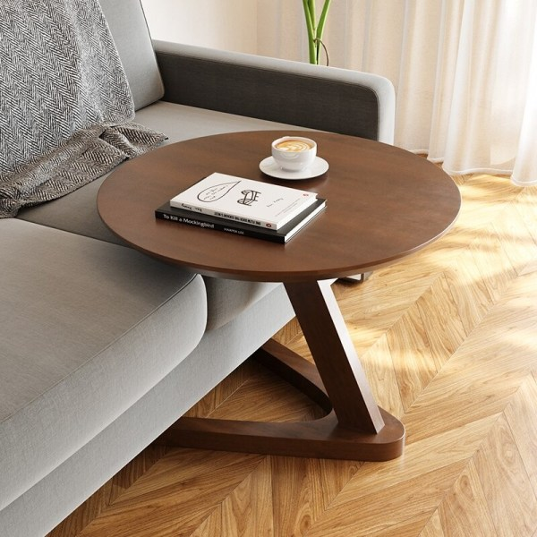 table basse ronde minimaliste deco salon