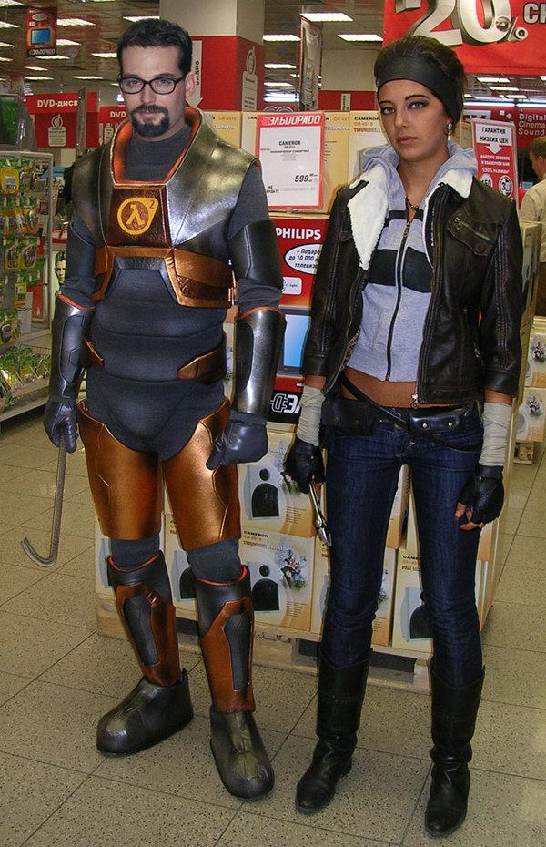 cosplay half life 2