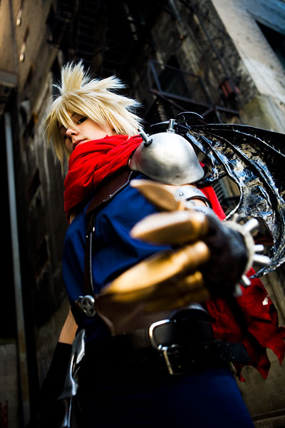 cosplay cloud strife from