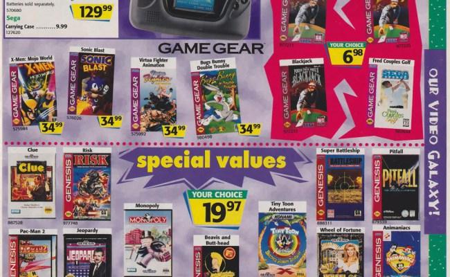Toys R Us 1996 Christmas Catalog Is Gaming Nostalgic