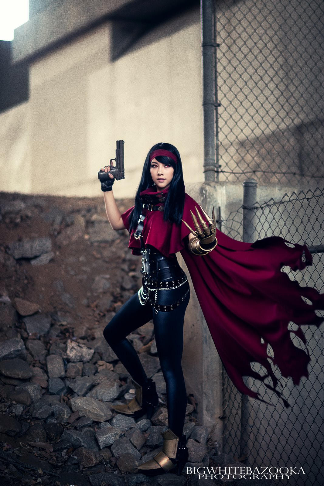 Gorgeous Wallpapers For Girls Cosplay Genderbent Vincent Valentine From Final Fantasy