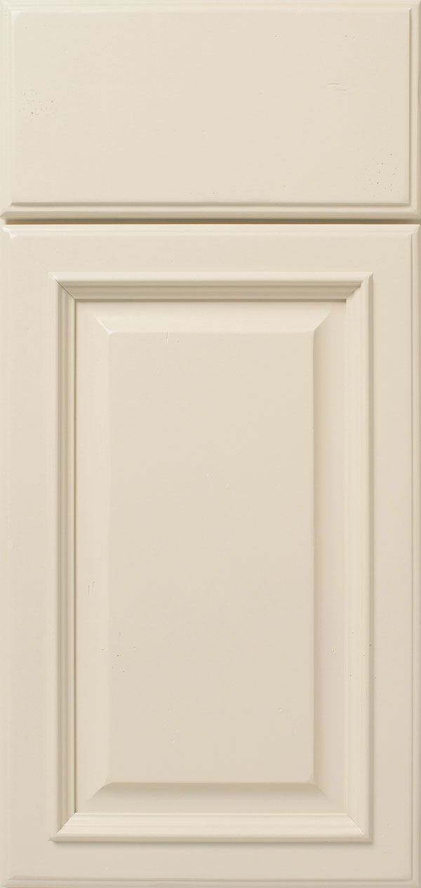 Oyster Off White Cabinet Paint on Maple  Omega