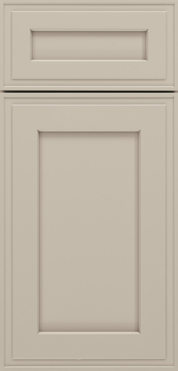 Colonnade Gray Cabinet Color on Maple  Omega