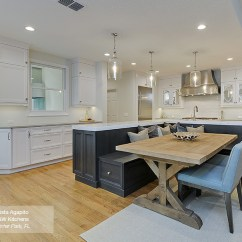 Kitchen Island Bench Tiny House Kitchens Featuring An With Seating Omega