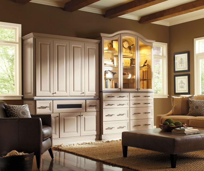storage for living room chandeliers cabinets omega cabinetry hollibrune in maple portobello finish