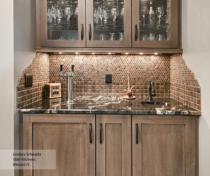 Wet Bar Cabinets  Omega Cabinetry