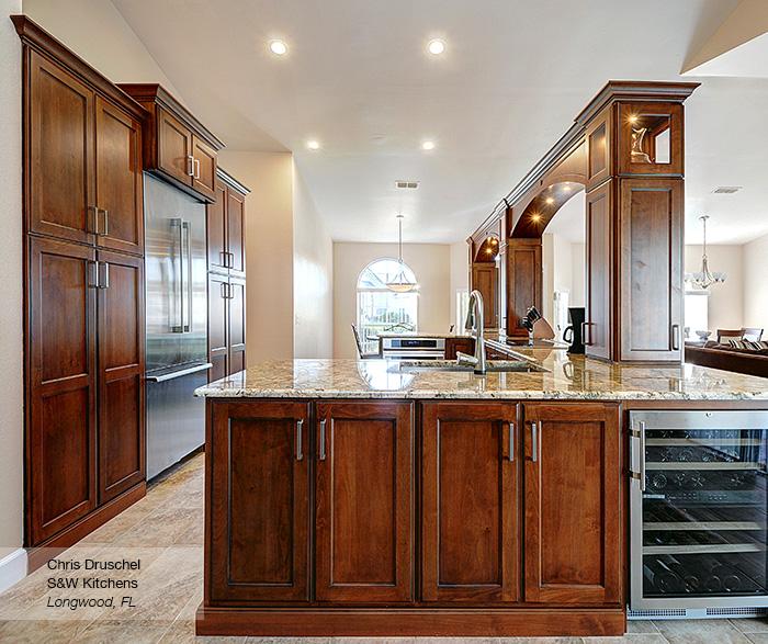 alder kitchen cabinets wood hoods omega cabinetry