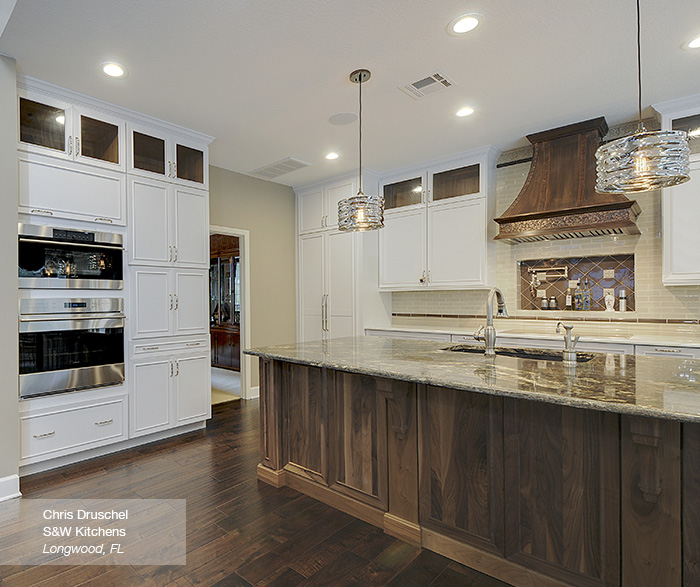 walnut cabinets kitchen cost of new white with a island omega