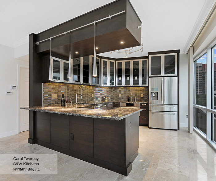 walnut kitchen cabinets white chairs contemporary omega