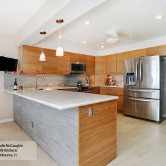 Bamboo Kitchen Cabinets Home Depot Glass Tile Backsplash Natural Omega Cabinetry