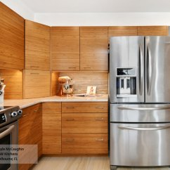 Bamboo Kitchen Cabinets Installing Countertop Natural Omega Cabinetry