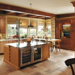 Rustic Kitchen Cabinet Bosch Appliance Packages With Cherry Wood Cabinets Omega