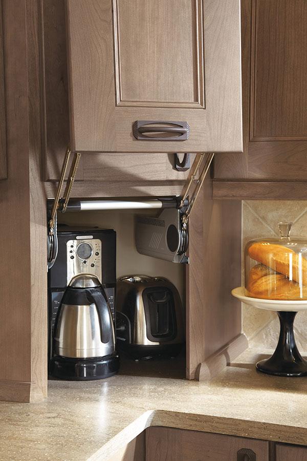 Appliance Garage  Omega Cabinetry