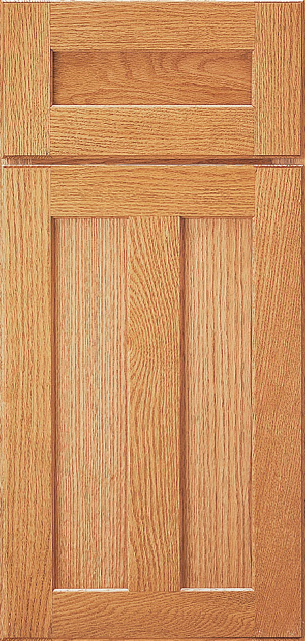 Butternut Cabinet Stain on Quartersawn Oak  Omega