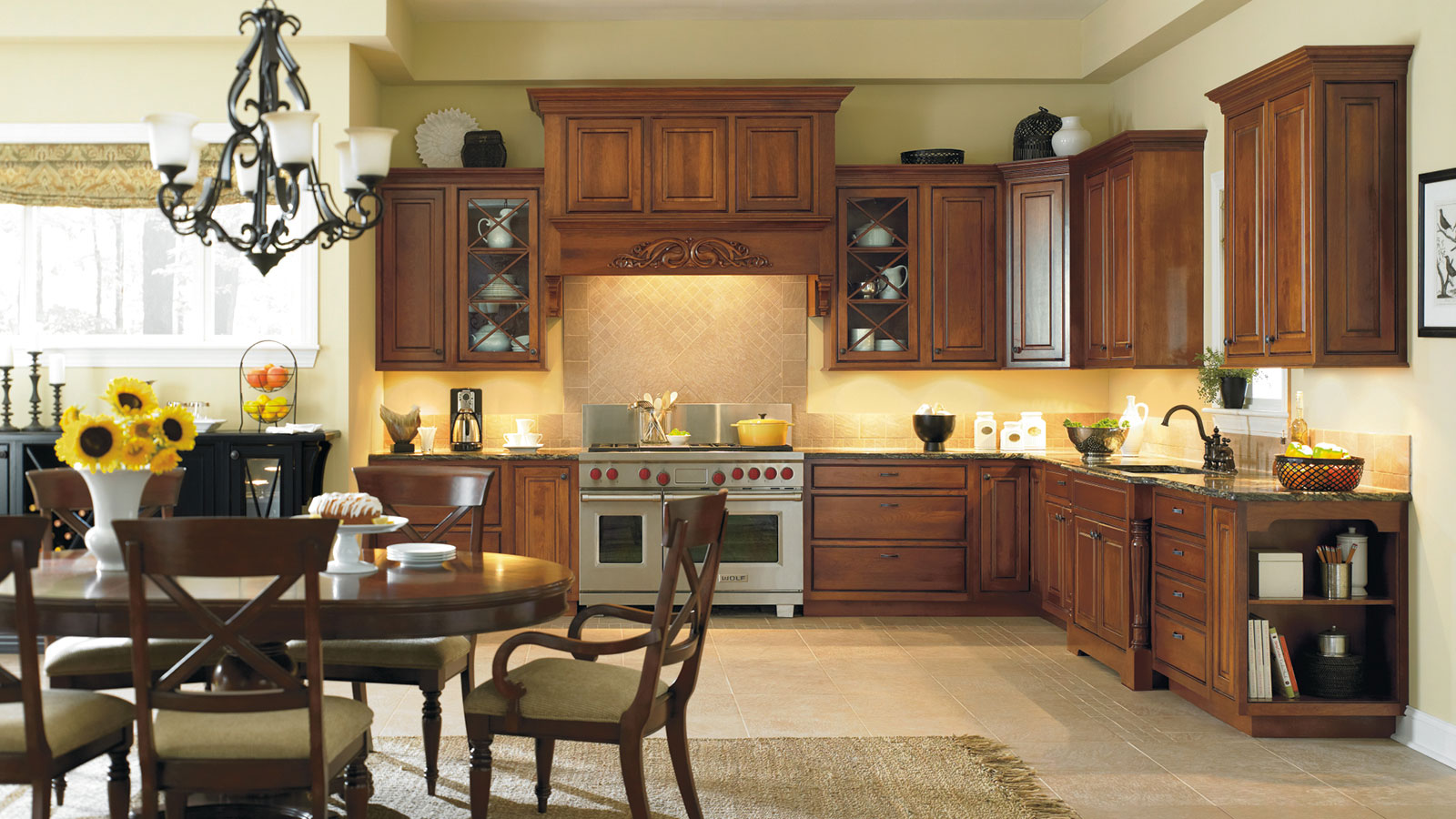 omega kitchen cabinets bronze pendant lighting inset cabinetry
