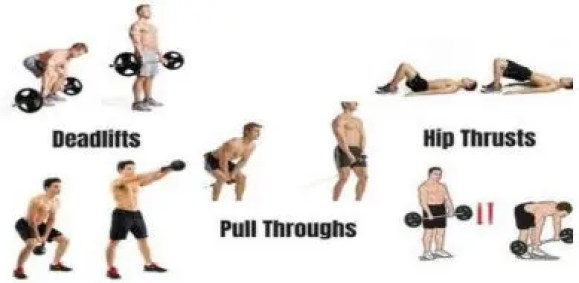 Hip hinge is the first step toward how to be healthy and fit