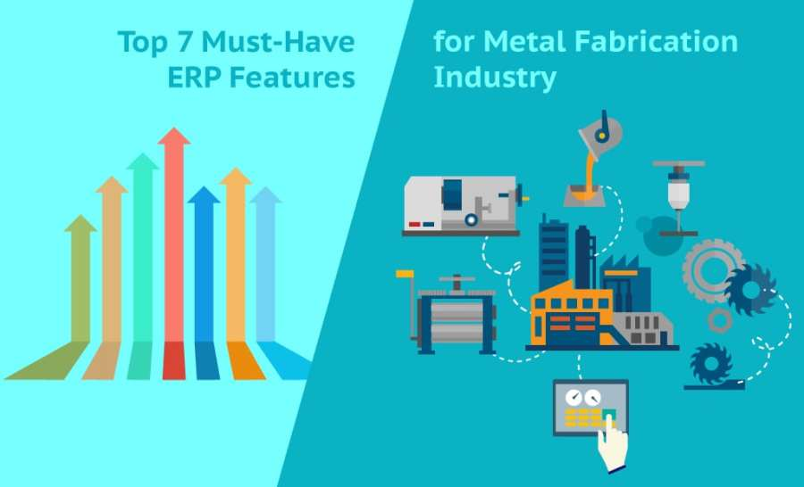 Top 7 Must Have ERP Features for Metal Fabrication Industry