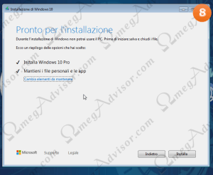 Come aggiornare a Windows 10 Gratis 08