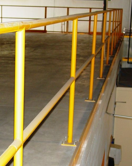 Industrial Safety Handrails Omega Industrial Products | Ada Compliant Exterior Handrails | Deck Railing | Hand Rail | Cable Railing | Wheelchair Ramp | Stair Railing