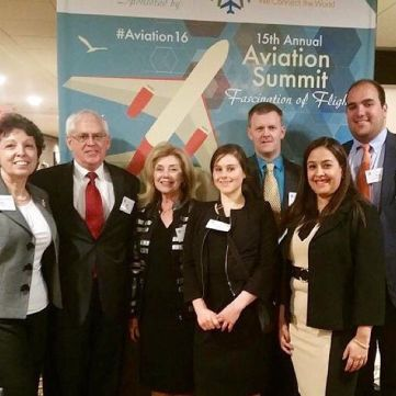 Omega Employees at the 15th Aviation Summit