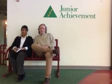 Omegans visit Junior Achievement Finance Park