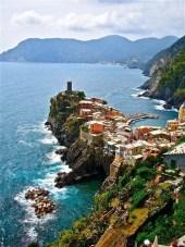 Rocky village, Liguria, Italy