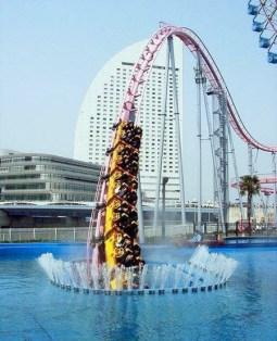 Underwater Roller Coaster in Japan
