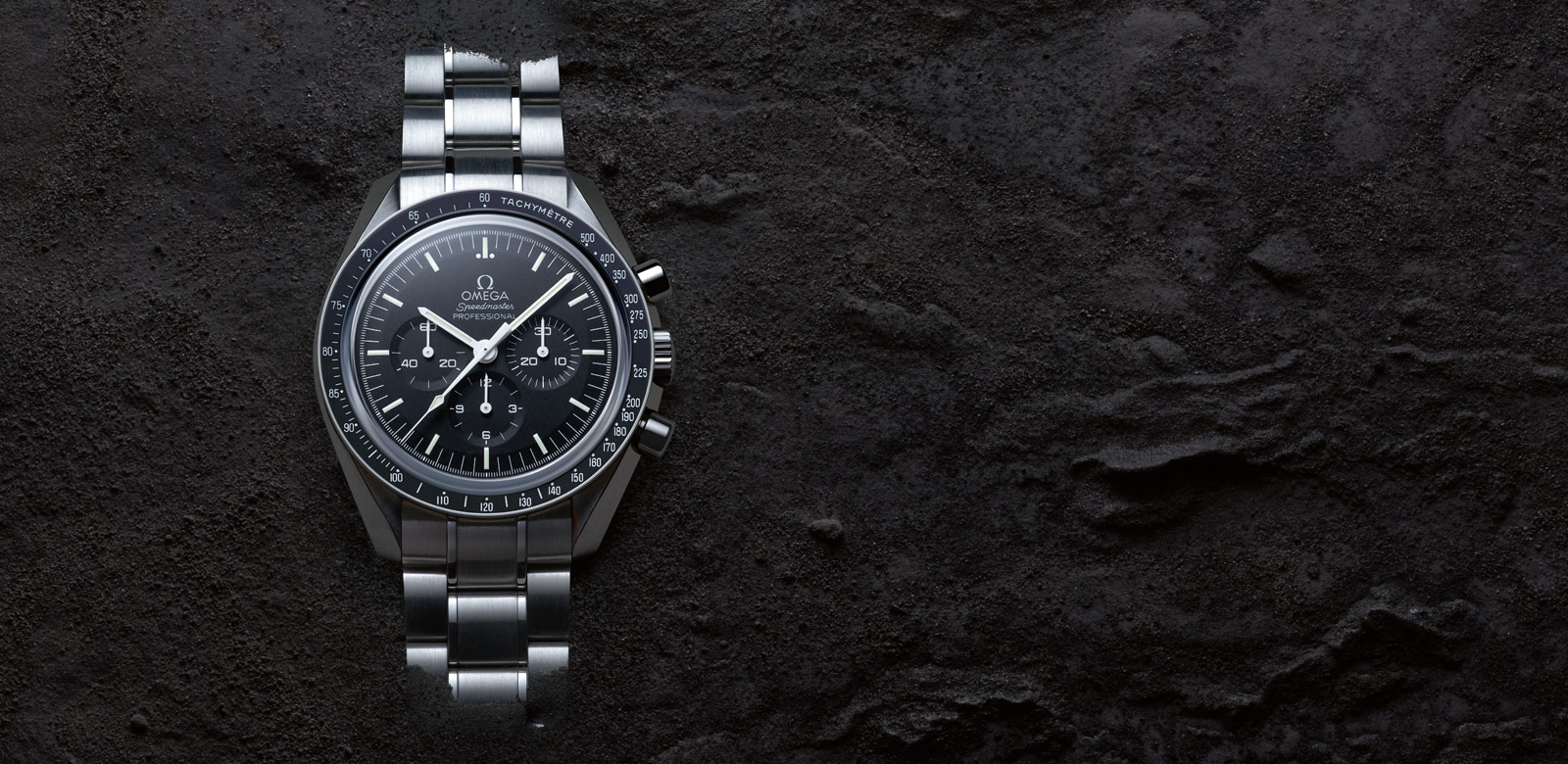 hight resolution of the first watch worn on the moon