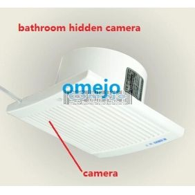 720p hd bathroom exhaust fan hidden