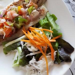 Pan Sear Salmon - O Fish Gading Serpong