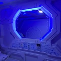 Ruangan di Dalam Kapsul (Galaxy Pods)