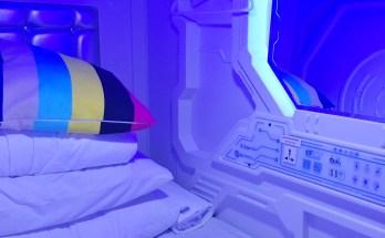 Ruangan di Galaxy Pod