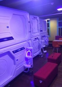 Ruangan di Galaxy Pods