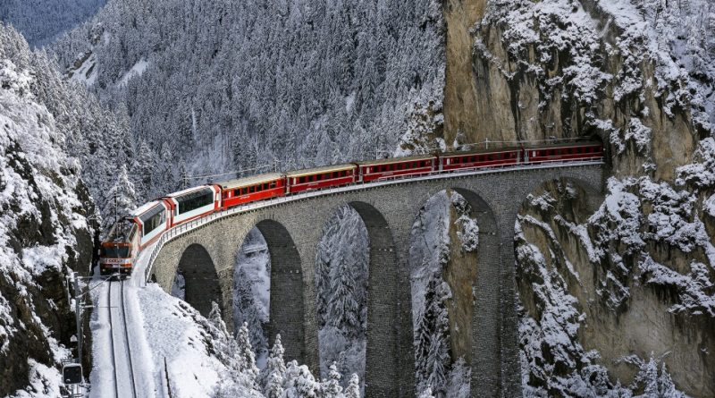 passeio do bernina express