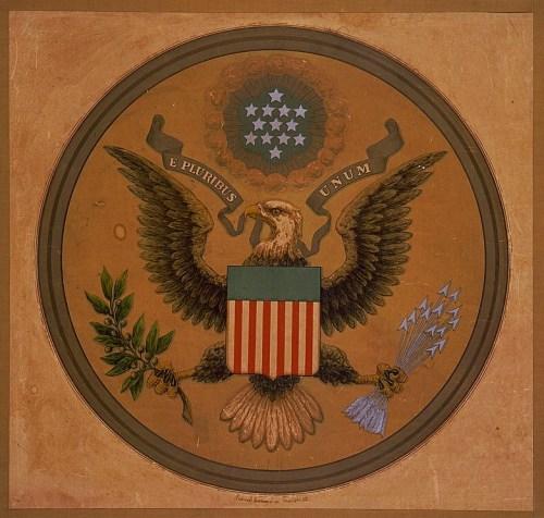 E pluribus unum the great seal of the United States of America