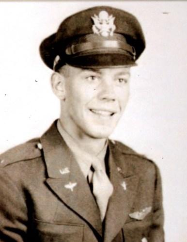 Gilbert A. Deibel, 1st Lieutenant , US Army Air Corps, WWII