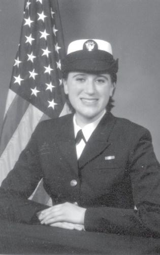 Nina Lingaur a veteran of the U.S. Navy
