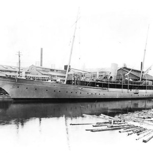 USS Dorothea in Port during 1898