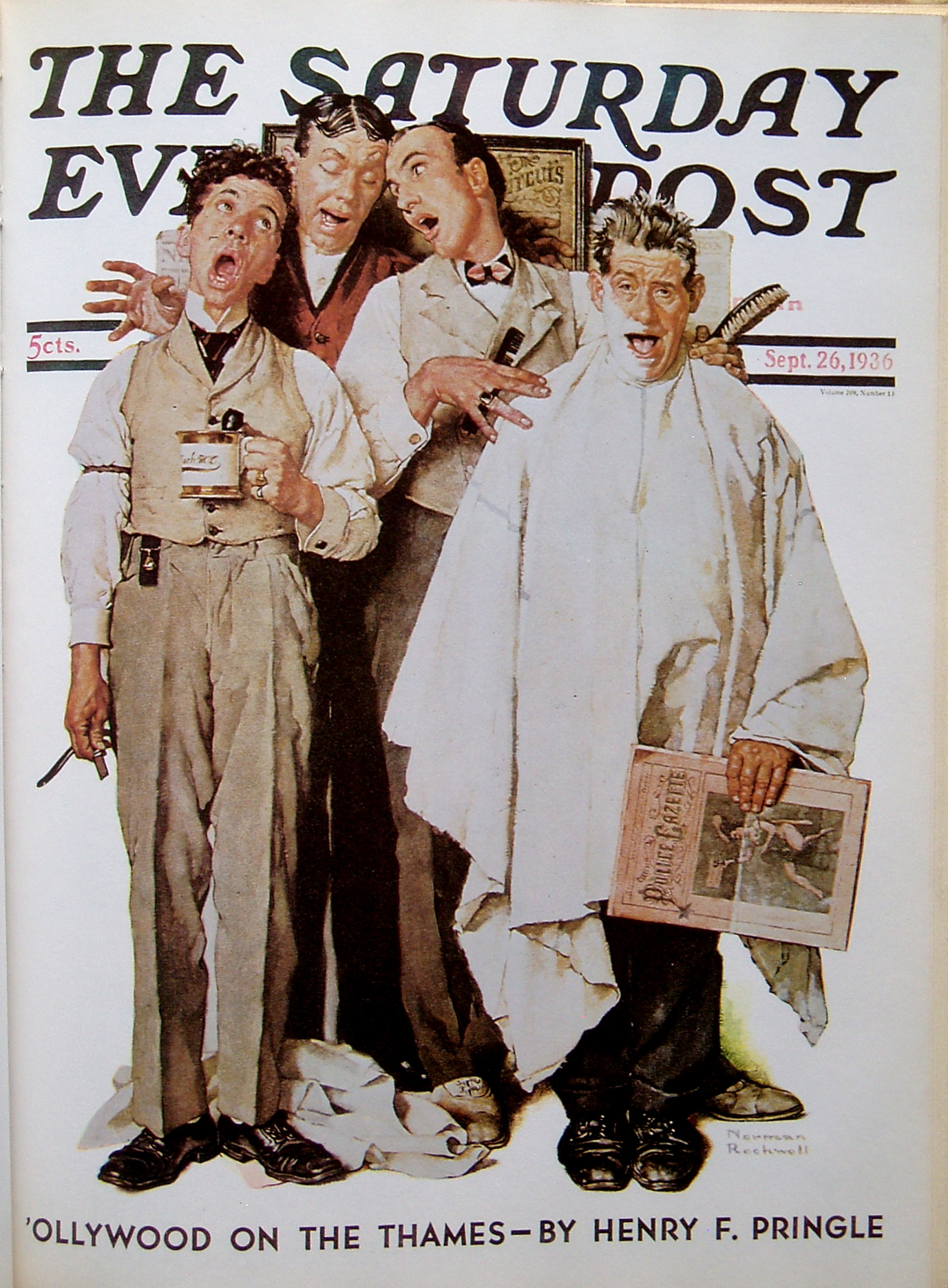 All Norman Rockwells Saturday Evening Post Covers  Omero