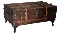 Inspirational Vintage Steamer Trunk Coffee Table ...