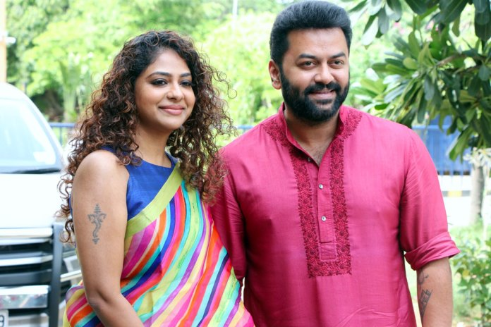 Actor Indrajith With Family 2