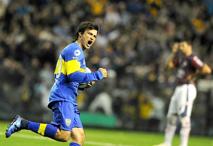 Dario Cvitanich sous le maillot de Boca Juniors