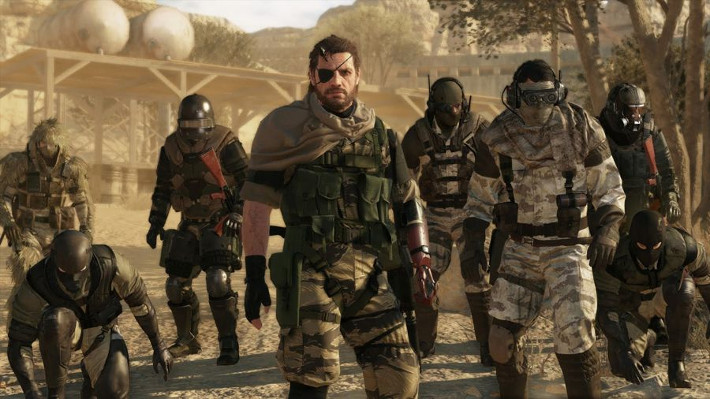 metal gear solid v the phantom pain - cosmétique de l'ennemi
