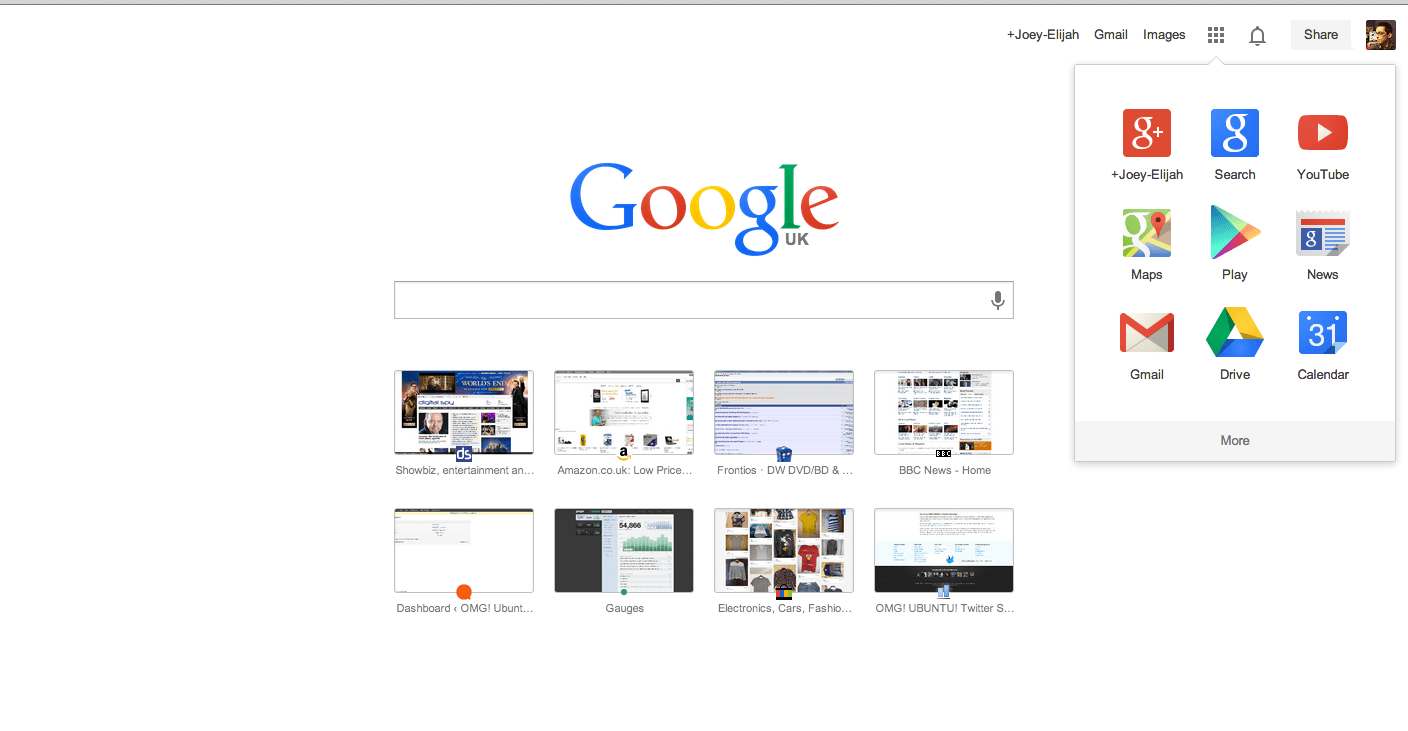Best Kitchen Gallery: Google Updates Homepage With New Logo And App Launcher Omg Chrome of Google Home Page Graphics on rachelxblog.com