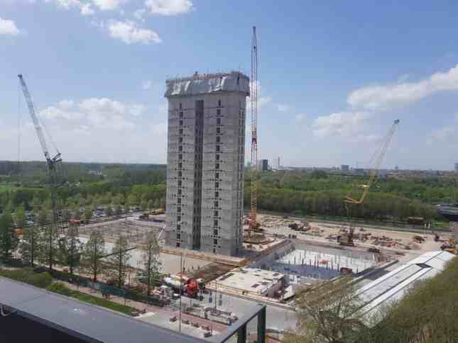 Geluidsmonitoring om bouwoverlast te voorkomen tijdens de bouw van het nieuwe RIVM-kantoor