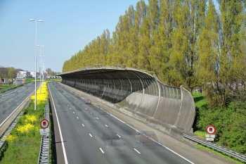 Geluidsoverlast-snelweg bouw