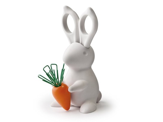 Bunny Desk Organizer for Scissors and Paperclips