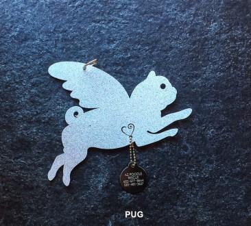Pug Pet Angel
