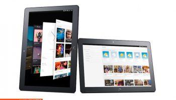 M10 Ubuntu Tablet portrait and landscape